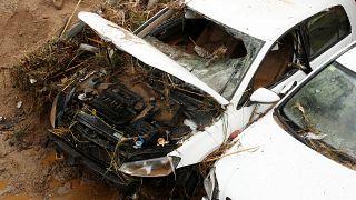 Katalóniai viharok: megkezdődött a romeltakarítás