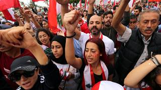 Protesters have filled Lebanon's streets for days