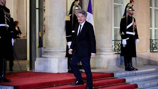 FILE: Atos Chairman and CEO Thierry Breton arrives to attend a state dinner in honour of Chinese President Xi Jinping at the Elysee Palace in Paris, France, March 25, 2019.