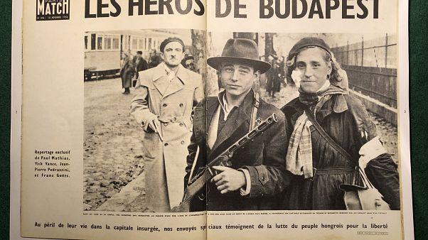 Arcot adtak az '56-os forradalomnak a nyugati lapok