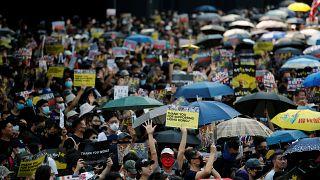 Hong Konglular bu kez Katalonya için meydanlara inecek