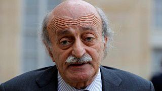 Lübnan'da Sosyalist Gelişim Partisi Lideri Walid Jumblatt