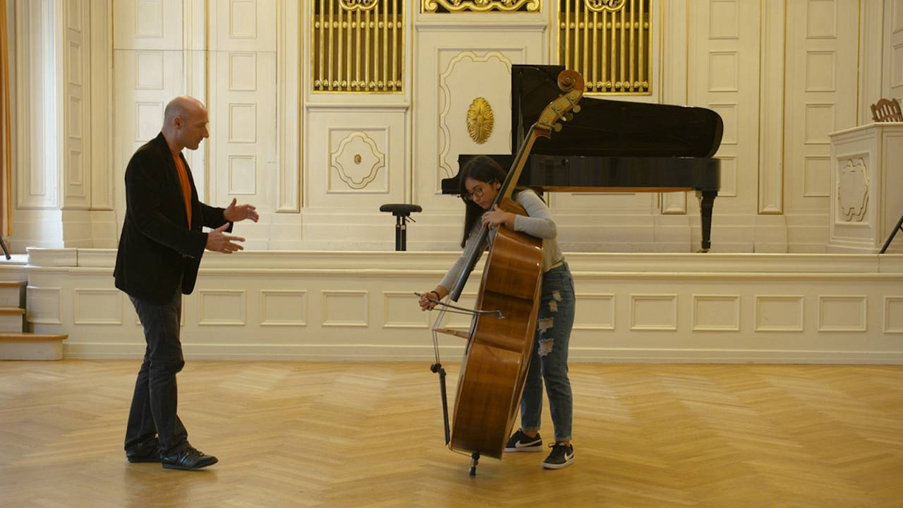 Time with the best: Vienna Philharmonic's mastery passed to Peruvian protégés