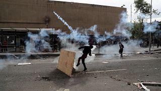 Чили: в Сантьяго снова протесты