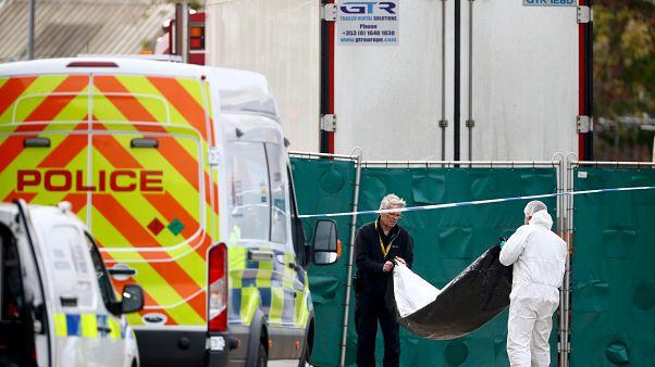 سرنشینان «کامیون مرگ» در لندن تبعه چین بودند؛ هویت راننده مشخص شد