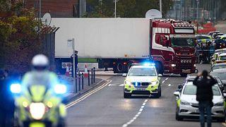 Camion de l'horreur : la police britannique tente de reconstituer l'itinéraire