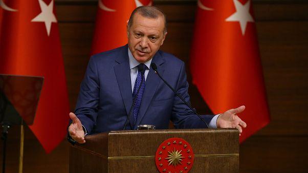 Erdoğan: 'Kapıları açarız' dediğimiz zaman tutuşuyorlar