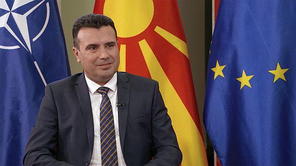 """Zoran Zaev : """"L'Union européenne doit rester motivée et nous soutenir"""""""