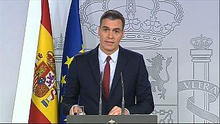 """Pedro Sánchez: la exhumación """"pone fin a una afrenta moral"""""""
