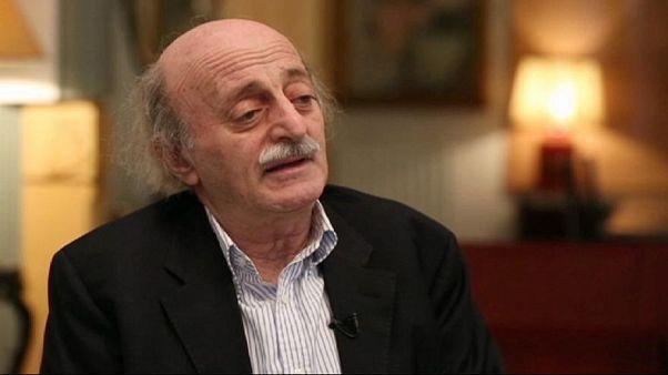 Walid Jumblatt, leader della minoranza drusa in Libano