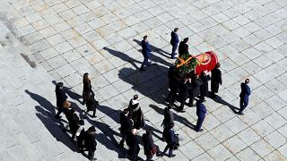 Spain exhumes remains of former dictator Franco