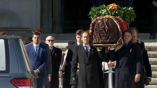 Вторые похороны Франко