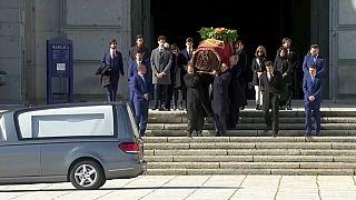 В Испании перезахоронили останки диктатора Франко