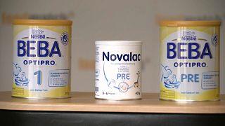 Warnung: Mineralölrückstände in Baby-Milchpulver