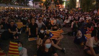 O apoio de Hong Kong à causa catalã