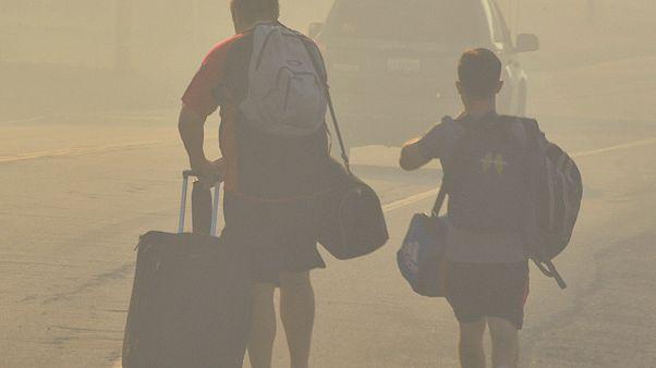 Incêndios na Califórnia provocam milhares de desalojados