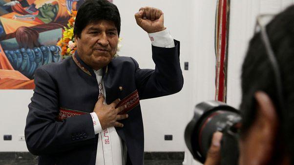 اوو مورالس چپگرا دوباره بر کرسی ریاست جمهوری بولیوی تکیه زد
