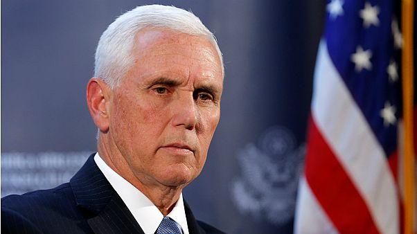 ABD Başkan Yardımcısı Mike Pence'den Hong Konglulara destek, Nike ve NBA'e tepki