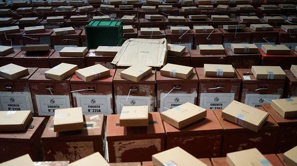 Material electoral para las elecciones de Uruguay