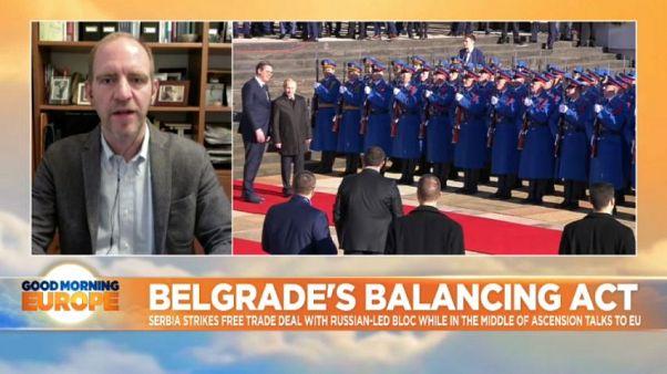 Belgrade's balancing act: Serbia plays both EU and Russia on trade