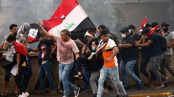 اعتراضات خونین در شهرهای ناآرام عراق؛ ۵۴ کشته در دو روز