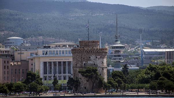 Ο Λευκός Πύργος στην παραλία Θεσσαλονίκης