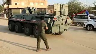 Rusya, Türkiye-Suriye sınırına 20 zırhlı araçla Çeçenistan'dan 300 asker getirdi