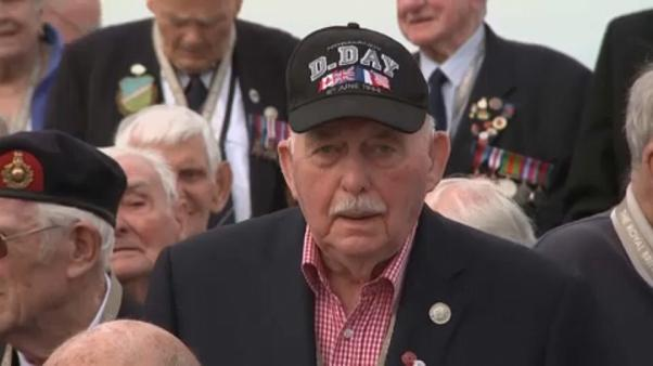 D-Day heroes return to Normandy 75 years after the D-Day landings