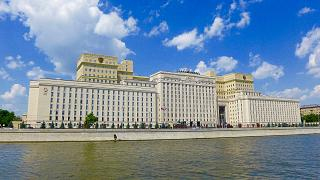Russia's Defence Ministry HQ in Moscow