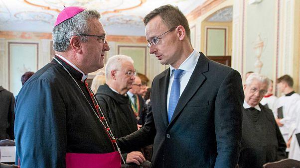 A keresztény hit fontosságáról beszélt Győrben Szijjártó