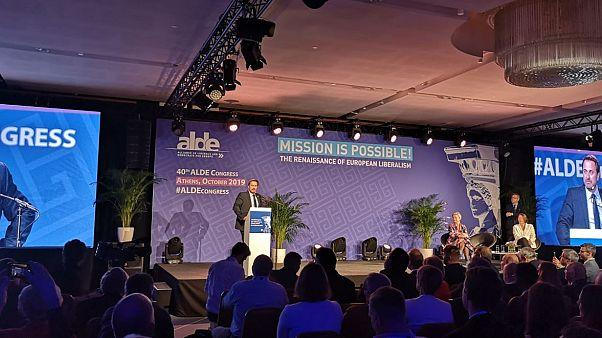 Съезд ALDE в Афинах