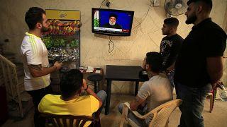 نصرالله محذرا المتظاهرين اللبنانيين: الفراغ سيؤدي إلى الفوضى والانهيار