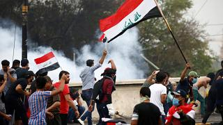 Security forces fire tear gas as protests resume in Iraq