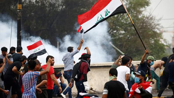 Könnygáz Bagdadban