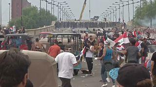 Sangrienta jornada de protestas en Irak