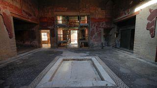 شاهد: افتتاح منزل أثري يعود لعام 79 للميلاد في إيطاليا
