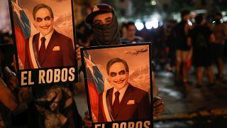 Manifestação histórica no Chile