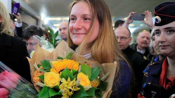'Rus ajanı' Maria Burina, ABD'de hapis yattıktan sonra Rusya'ya döndü