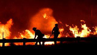 9500 Hektar verbrannt: weiter Feuergefahr in Kalifornien