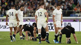 Rugby : les Anglais terrassent les All Blacks et filent en finale
