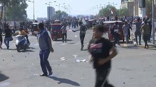 Neue Jagdszenen in Bagdad - Zivilisten fliehen vor Tränengas