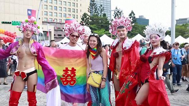 تایوان میزبان بزرگترین راهپیمایی همجنسگرایان در شرق آسیا