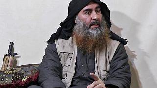"""زعيم تنظيم الدولة الإسلامية """"داعش"""" أبو بكر البغدادي. 29/04/2019"""