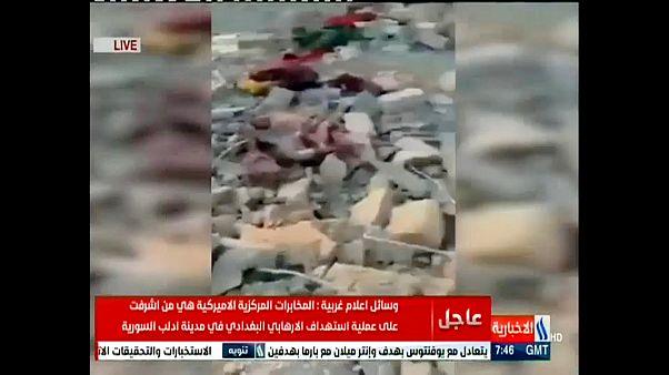 Video | Irak televizyonu Bağdadi'nin öldüğü operasyonun görüntülerini yayınladı