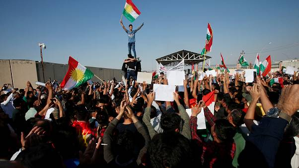 Türkiye'nin Barış Pınarı Operasyonu Erbil'de protesto edildi