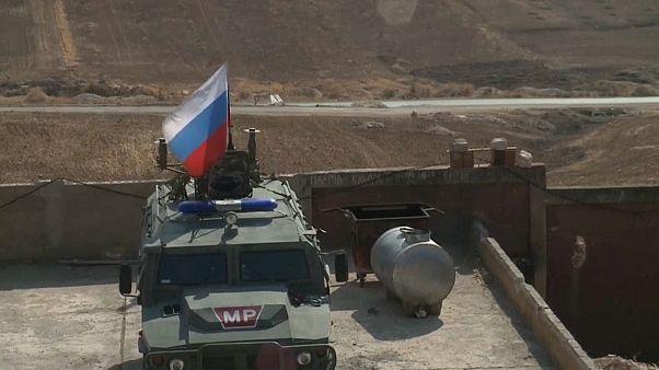 Военная полиция РФ в Кобани
