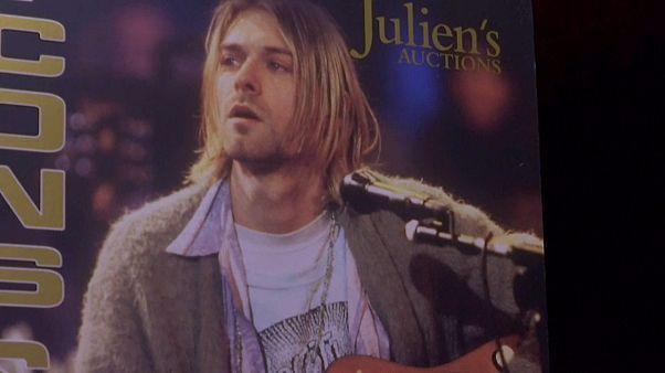 """Rekordpreis für Kurt Cobains """"Unplugged""""-Jacke"""
