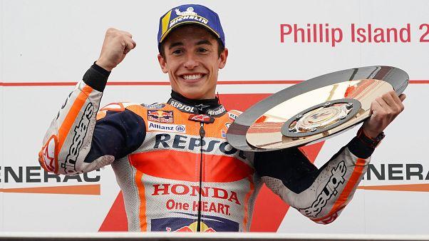 Márquez triunfa en el Gran Premio de Australia de MotoGP