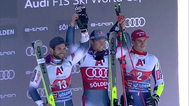 Alexis Pinturault gewinnt Weltcup-Auftakt in Sölden