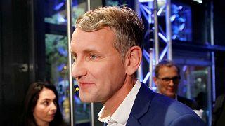 Björn Höcke, tête de liste de l'Afd en Thuringe, le 27 octobre 2019